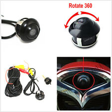 360° Rotatable Auto Car Front/Side/Rear View Backup Reverse Wide-angle HD Camera