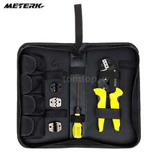 Professional Wire Crimper Pliers Ratcheting Terminal Crimping Tool Meterk N7M8