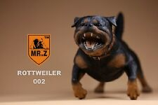 "1:6 Scale Mr.Z Animal Series Rottweiler Dog Model Toy F 12"" Man Figures"