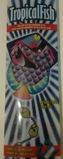 "Tropical Fish Kite by X-Kites 25"" Wide Deluxe Nylon Diamond Fiberglass Frame NEW"
