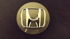 Honda OEM Wheel Center Cap Diameter 2 11/16 Inch Gray Finish Chrome Logo 44742