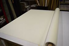 """2NDS FABRIC  WHITE SHANTUNG UPHOLSERY & HOME DECOR FABRIC 57""""W SOLD BY THE YARD"""