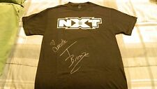 The Future Is Now NXT WWE Autographed Authentic Black T-Shirt Large
