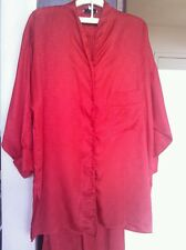 CHRISTIAN DIOR LOUNGE WEAR TOP, PANTS AND ROBE SIZE MED
