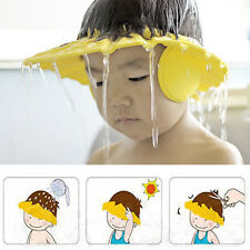 Durable Baby Kids Bathing Shower Eye Ear Protector Head Cover Washing Hair Cap