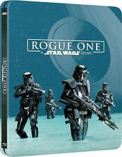 Rogue One: A Star Wars Story (STEELBOOK)(Blu-ray 3D + Blu-ray)(3 DISC)(All)(New)