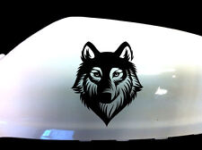 Indiashopers Wolf Werewolf Windows, Sides, Hood, Bumper Car Sticker