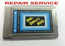 REPAIR SERVICE FOR Allen Bradley 1784-PCMK AB CARD DH+ DH485 PCMK/B - READ !!!