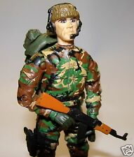1:18 Unimax BBI Elite Force Mercenary Soldier  Figure AK47 Rifle Custom