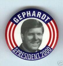 old Dick GEPHARDT for President 2000 pin