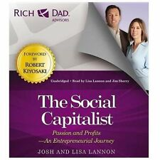 6 CD Rich Dad The Social Capitalist Passion & Profits
