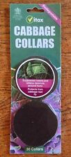 VITAX CABBAGE COLLARS FOR CABBAGE ROOT FLY PACK OF 30 CAULIES SPROUTS BROCOLLI