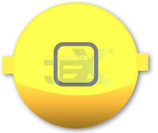 High Quality Gloss Yellow Home Button for iPhone 4S/4GS 16GB/32GB/64GB