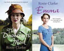 ROSIE CLARKE __ EMMA & DOWNSTAIRS DONCELLA _ 2 LIBROS JUEGO __ __