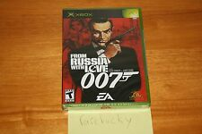 007: From Russia With Love (Xbox) NEW SEALED BLACK LABEL Y-FOLD W/UPC, MINT!