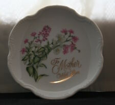 Saji Japan Fine China – To Mother With Love Plate
