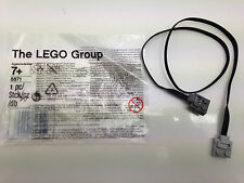 "LEGO  8871 - Brand NEW Technic Power Funtions Extension Cable Wire 50cm 20"" 9V"