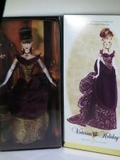 NIB BARBIE DOLL 2006 VICTORIAN HOLIDAY GOLD LABEL FOR MEMBERS OF FAN CLUB