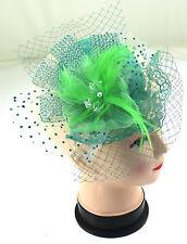 Headband Aliceband Hat Feather Hair Fascinator Weddings Prom Royal Ascot
