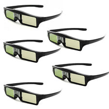 5 Pcs 3D IR Shutter Glasses KX-30 For BenQ W1070 W700 W710ST DLP-Link Projector