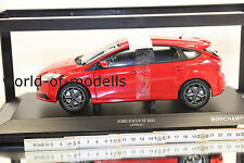 Minichamps 110082002 Ford Focus ST 2011 rot metallic 1:18 NEU in OVP