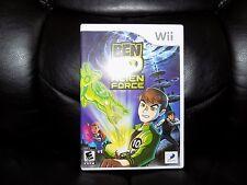Ben 10: Alien Force (Nintendo Wii, 2008) EUC