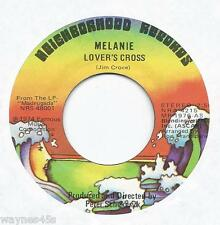 MELANIE * 45 * Lover's Cross (Jim Croce song) * 1974 * UNPLAYED MINT * USA ORIG.