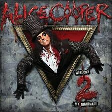 ALICE COOPER Welcome 2 My Nightmare (2011) CD NEW Bonus Track