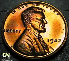 1942 PROOF Lincoln Cent Wheat Penny  --  MAKE US AN OFFER!  #Y1187