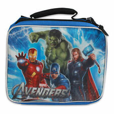 Lunch Bag Insulated Avengers Hulk Captain America Iron Man Thor Blue NWT