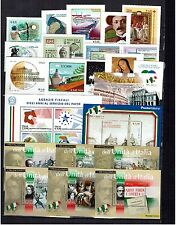 ITALY   2011  COMPLETE YEAR 54  STAMPS +17 MINIATURE SHEETS  UNMOUNTED MINT