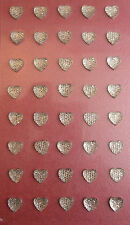 Heart Sparkly Gems Adhesive/ small /cards scrapbooking/Floristry/Glassware