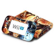 Skin Decal Cover for Nintendo Wii U Console & GamePad - Mortal Combat