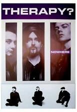 """THERAPY?    POSTER  """"NOWHERE"""""""