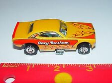 "100% HOT WHEELS GARY DENSHAM'S ""TEACHERS PET"" DODGE CHALLENGER NHRA FUNNY CAR RR"