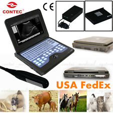 Promotion Vet Veterinary Portable Ultrasound Scanner Laptop Machine,Rectal probe