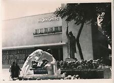 PARIS c. 1937 - Exposition Pavillon de la Hongrie  Sculptures  - DIV 8183