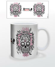 ALCHEMY AMORE SKULL 11 OZ COFFEE MUG DECOR INTERIOR APPLIANCE BEAUTIFUL COOL USA