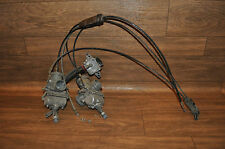 Polaris Snowmobile 1997-1999 400,Carbs & Fuel Pump With Throttle & Choke Cable