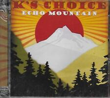 CD Album: K 's Choice: Echo Mountain. Sony. A4