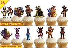 56 Five Nights At Freddys Edible Cup Cake Fairy Toppers Premium Wafer STAND UPS