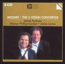 Mozart: The 5 Violin Concertos (Musical Heritage Society) W. A. Mozart, James L
