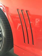 Chevrolet Camaro Side Vent Gill Inserts Vinyl Decal Stripes 2010-2015(Any Color)