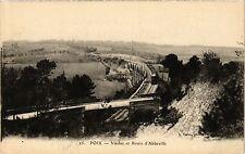 CPA  Poix -Viaduc et Route d'Abbeville     (295199)