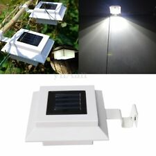 3 LED LÁMPARA SOLAR LUZ PIR SENSOR IMPEMEABLE PR PARED JARDÍN ESCALERA PATIO SUN