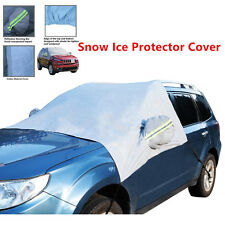 CAR ANTI FROST SNOW ICE WINDSCREEN FRONT & SIDE WINDOWS MIRROR COVER PROTECTOR