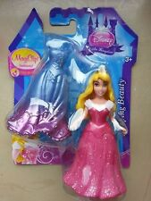 NUOVO DISNEY PRINCESS MAGICLIP Moda Mini Piccola Bambola AURORA SLEEPING BEAUTY
