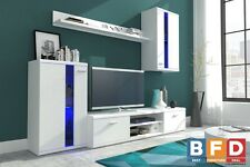 Modern Living room Furniture Set TV Display Stand Wall Mounted Cabinet Cupboard