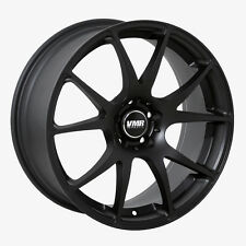 VMR V713 19x8.5 ET35 Matte Black Wheels Rims Fit Audi TT (2008+)