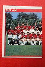 Panini Calciatori 1998/99 n. 186 MILAN SQUADRA DA EDICOLA CON VELINA